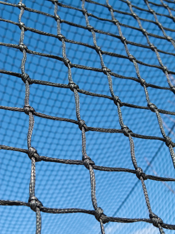 #36 Twisted Poly Batting Cage 12'Hx12'Wx55'L