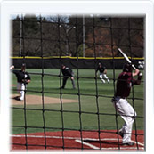Custom Baseball Backstop Nets